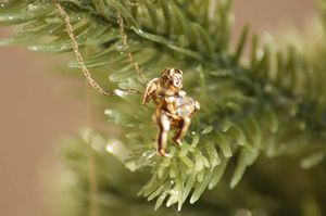 10k golden angel with real diamond for Sale in Great Falls, MT