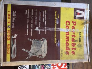 Portable commode for Sale in Millbury, MA