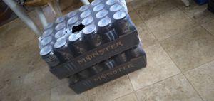 monster energy 2x 24 packs for Sale in GLMN HOT SPGS, CA