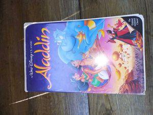 Aladdin movie VHS for Sale in Sebastian, FL