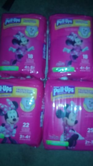 Huggies Pull-ups Girls for Sale in Madera, CA