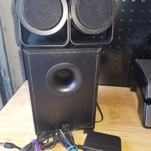 Altec Lancing Computer Speakers W/subwoofer for Sale in Fort Lauderdale, FL