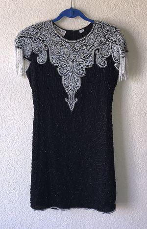 Vintage Scala beaded dress BEAUTIFUL Medium for Sale in Littleton, CO