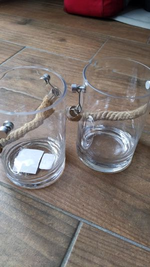 Glass Candle holder for Sale in Orange, CA