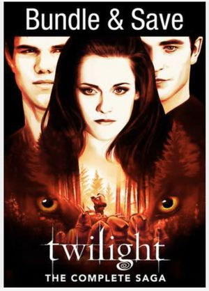 Twilight: The Complete Saga - 5 Movies Collection - Digital Copy Code - Vudu HDX for Sale in Fullerton, CA