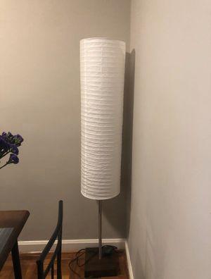 $50 OBO floor lamp cylinder for Sale in Washington, DC