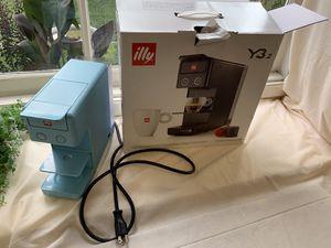 Baby Blue illy Iper Espresso Machine for Sale in Riverside, CA