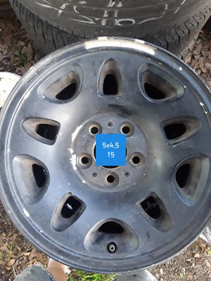 5x4.5 15 inch rims for Sale in GRANT VLKRIA, FL