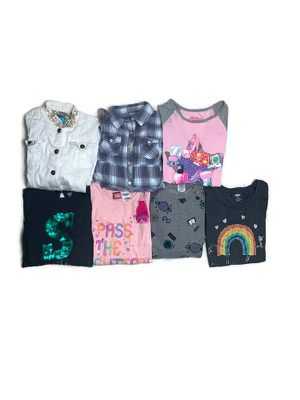 Girls tops bundle size Large (10-12) for Sale in Converse, TX