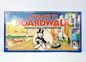 Advance to Boardwalk Vintage Board Game Parker Brothers Monopoly - SEALED - NEW for Sale in Trenton, NJ