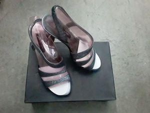 "Silver glitter ""Nina"" high heels for Sale in Irwindale, CA"