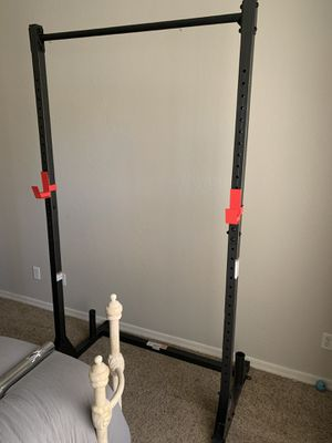 Squat rack / weight rack for Sale in Surprise, AZ
