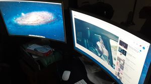 Samsung 32 curved monitors for Sale in Akron, OH