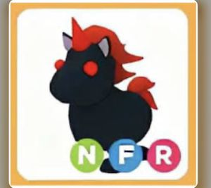 Neon evil unicorn fly ride from adopt me roblox for Sale in La Mesa, CA