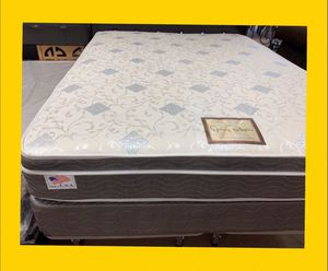 Queen Size Mattress and box springs special for 219 only one week (twin, full ,king mattress and metal bed frame available) for Sale in Cathedral City, CA