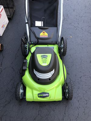 Greenworks lawn mower NEW! for Sale in Tinley Park, IL