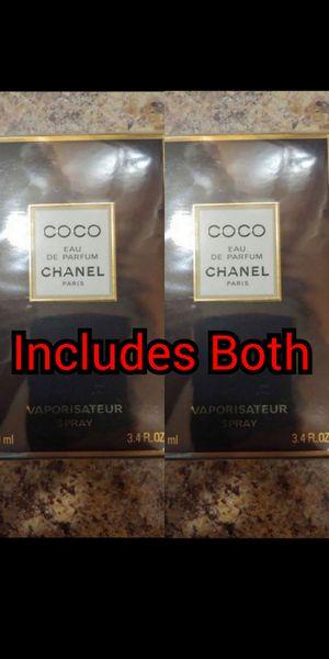 Lot of 2 Chanel Coco Eau de Parfum Women's Perfume - Each is 3.4 FL OZ for Sale in Ridley Park, PA
