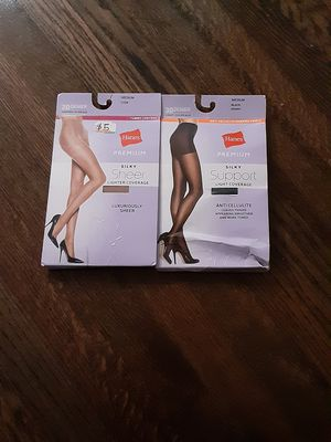 Hanes, premium silky Pantyhose for Sale in Chicago, IL