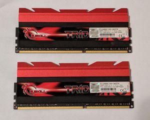 G.SKILL Trident X Series 16GB (2x8GB) DDR3 19200 2400MHz (F3-2400C10D-16GTX) for Sale in Modesto, CA