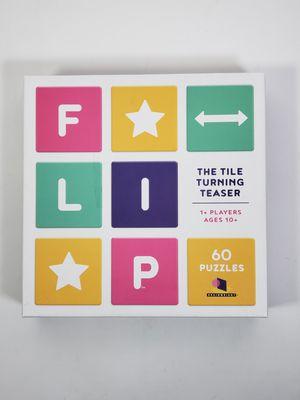 FREE Flip The Tile Turning Teaser Board Game for Sale in Fresno, CA