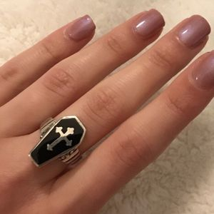 Sterling silver poison ring for Sale in Los Angeles, CA