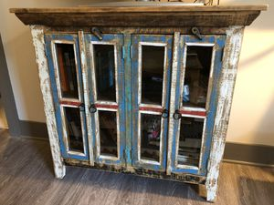 Reclaimed wood cabinet for Sale in Nashville, TN