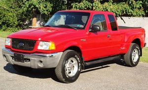 Red 2001 Ford Ranger XLT Clean 4WDWheels for Sale in Fort Lauderdale, FL
