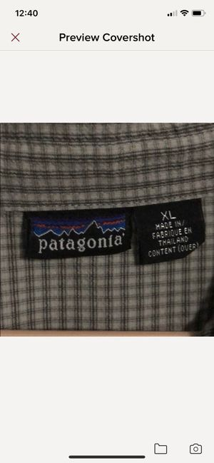 *VINTAGE 90's* PATAGONIA BUTTON UP for Sale in San Jose, CA