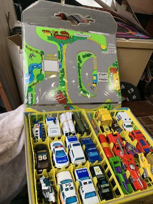 Toy Car Collection In Matchbox Case for Sale in Washougal, WA
