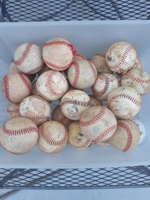 Bucket of baseballs for Sale in Las Vegas, NV