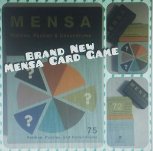 Brand New Mensa Card Game for Sale in Brook Park, OH