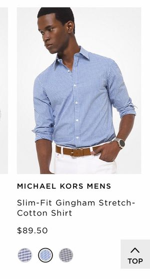 Michael Kors men's button up shirt for Sale in Salinas, CA