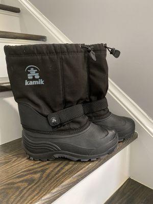 Kamik kids snow boots 5 for Sale in Herndon, VA