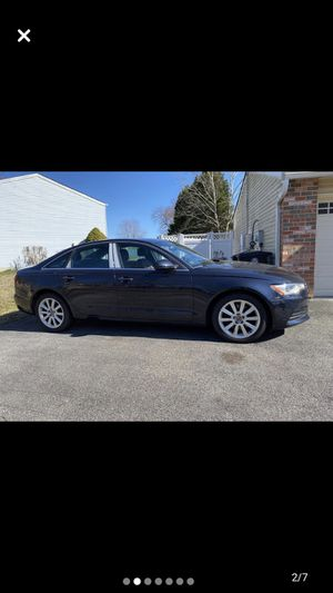 Audi a6 2015 2.0 triptronic quattro turbo for Sale in Hillcrest Heights, MD