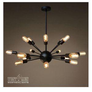 Sputnik 18 Lights Brown Metal Chandelier Lighting for Sale in Riverside, CA