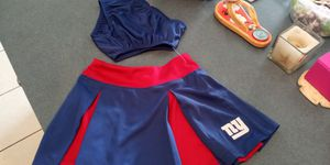 Toddler NY Giants cheerleader skirt for Sale in Venice, FL