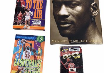 Michael Jordan Memorabilia 4 Items 2 Books 1 Magazine 1 VHS for Sale in Beaverton,  OR