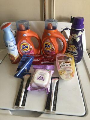 Female bundle $18. 4 Pyrex detergents or 4 gain $10 for Sale in Hemet, CA