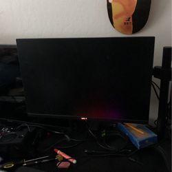 Two 24' Dell Monitors + Stand for Sale in Pacifica,  CA