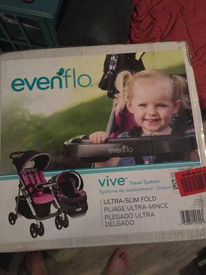 Evenflo Vive Travel System (Stroller/Car seat Combo) for Sale in Margate, FL