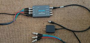 AJA D10AD Component/Composite Analog to SDI 10-Bit Converter for Sale in Los Angeles, CA