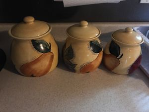 Kitchen jars for Sale in Houston, TX