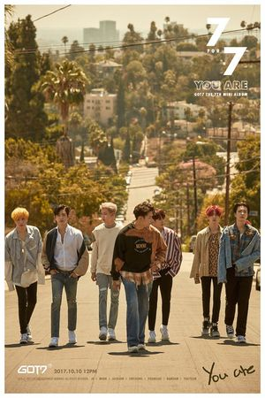 GOT7 7 For 7 Version A Poster for Sale in Poway, CA