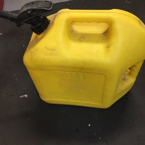 Diesel 5 Gal Can for Sale in Mount Hamilton, CA