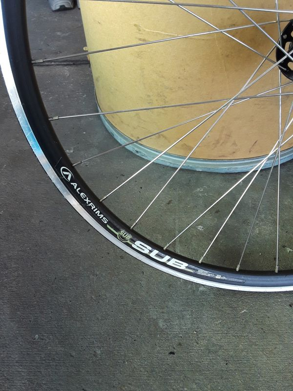 Bicycle Rims Alexrims Sub Double Wall Rim Etro 622x17 6061h 6 For Sale In Long Beach Ca Offerup