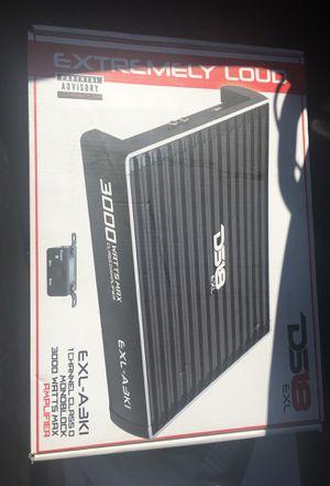 Ds18 EXL-A3K1 Mono class D 1 channel amplifier 3000w for Sale in Kissimmee, FL