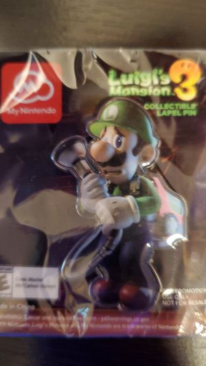 2019 Exclusive PAX West Seattle Luigi's Mansion 3 Promotional Pin for Sale in Kirkland, WA