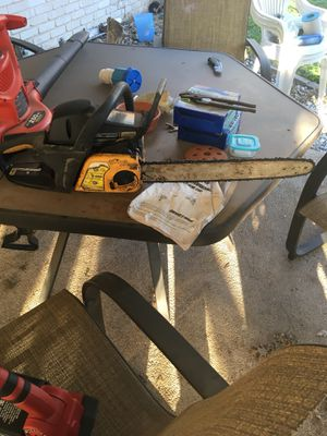 Chain saw and leaf blower for Sale in San Antonio, TX