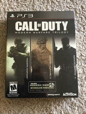 Call of Duty Modern Warfare Trilogy (PS3) for Sale in Hayward, CA