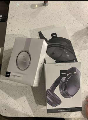 Bose QuietComfort 35 II Wireless Bluetooth Headphones, Noise-Cancelling, with Alexa voice control for Sale in Hollywood, FL